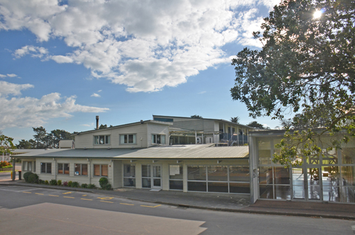 Education Minister Hekia Parata announced yesterday that $17 million will be available to upgrade Waiheke High School, above, and $23 million will be spent rebuilding Te Huruhi Primary.