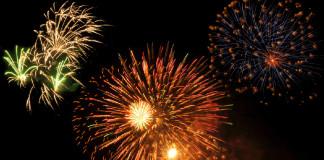 Fireworks at dirtrack 2015