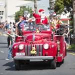 Waiheke Santa Parade 2015
