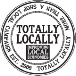 Totally Locally stamp