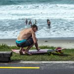 Surf Waiheke Waxing board cropped  JL