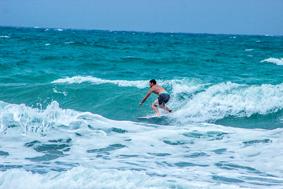 Surf Waiheke Dropping in JL