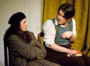 Kurt MCCarthy in the lead role of Billy the 'cripple', with Tar Davis as Helen. Phillipa Karn Photography