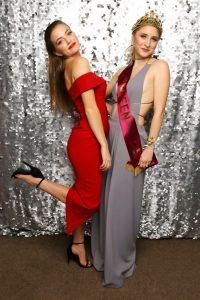 Lochie Barnett and Queen of the Ball, Lauren Williams. Photo White Door Photography