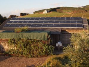 Jurassic Ridge solar panels SUP