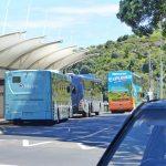Matiatia Re-arrangements tour buses 21 November 2017 RJ