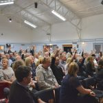 APTR public meeting Oct 2018, hands up if considering taking accom off market, EH