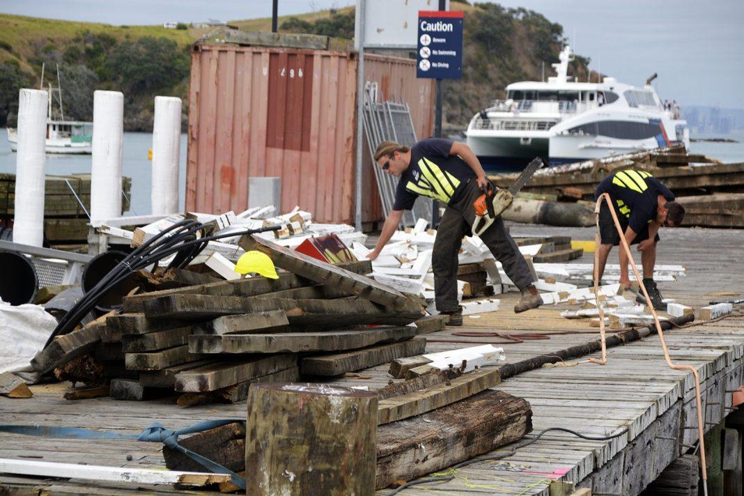 Maitiatia Wharf repair