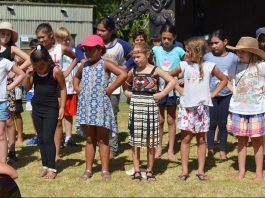 Te Huruhi Primary kapa haka at Waitangi Day 2019