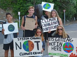 Student Protest on climate change
