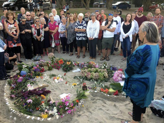 Oneroa Vigil Oneroa Vigil for Christchurch