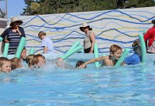 Te Huruhi School swimming sports 2019
