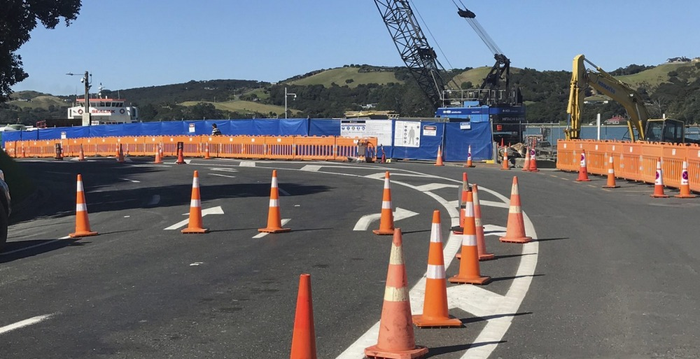 Kennedy Point works disrupting access