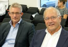 Kennedy Point Boatharbour directors, Kitt Littlejohn and Tony Mair