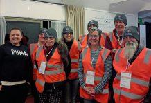 Homeless count volunteers