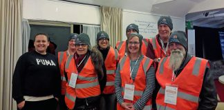 Homeless count volunteers