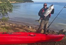 Kingfish catch Warren Eade