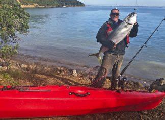Kingfish catch Warren Eade