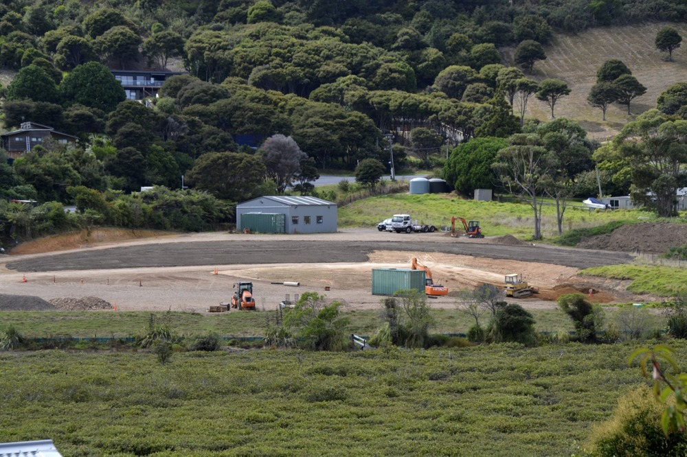 Ostend Road Development The property borders the wetland at the edge of Putiki Bay
