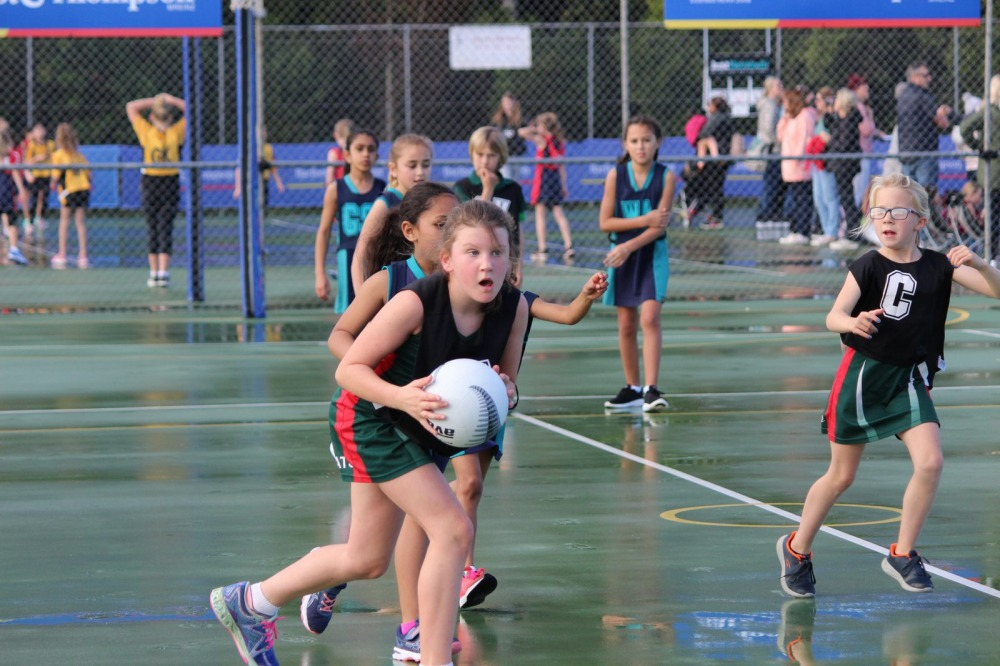 Maddie Upchurch showed outstanding shooting in the year six opening game against Hobsonville