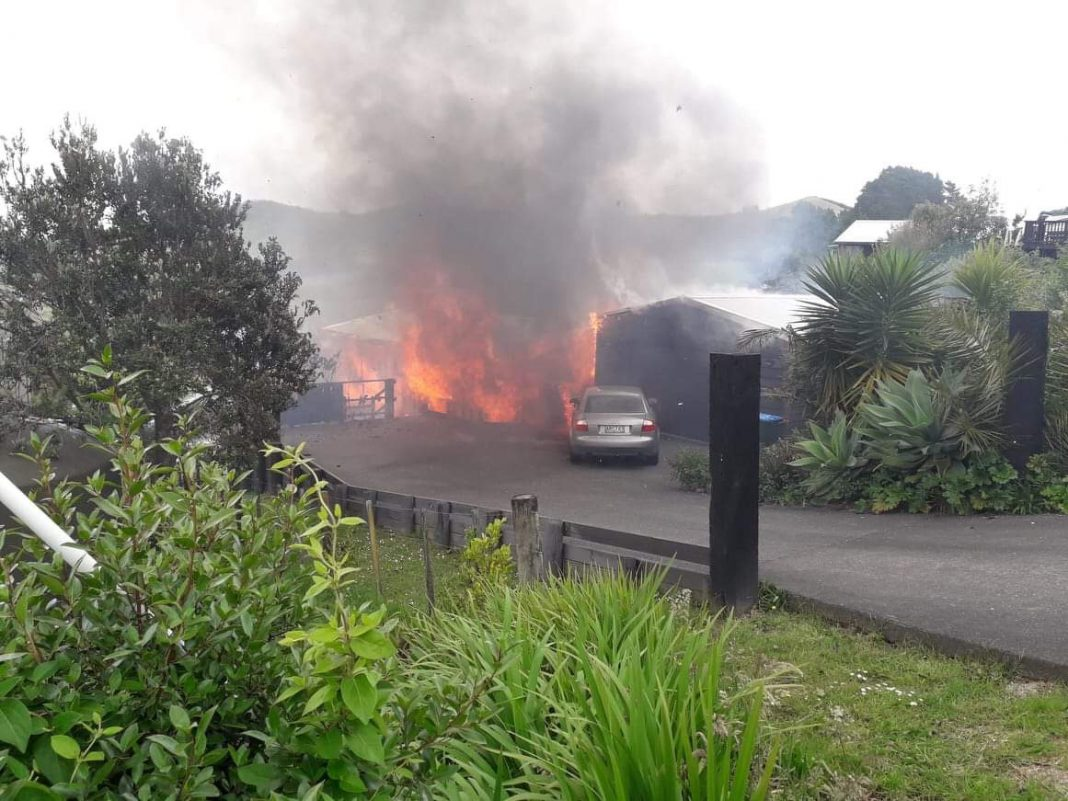 Sea View Road fire