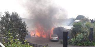 Sea View Road fire
