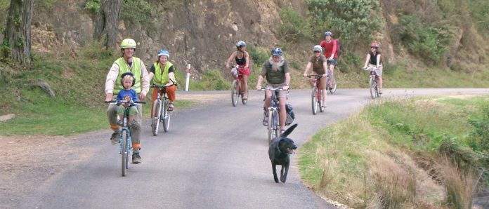 Members of Cycle Action Waiheke on an outing. Members of the group are organising the Tour de Waiheke including high tea, storytelling, vineyard visits, art and a film as part of the Waiheke Cycling Festival.