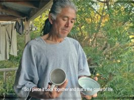 Ku Nakagawa's film of his father Kazu Nakagawa has won Mobile Winner in the Four Walls Film Festival.