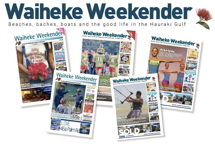 Waiheke Weekender is on newsstands every Thursday FREE