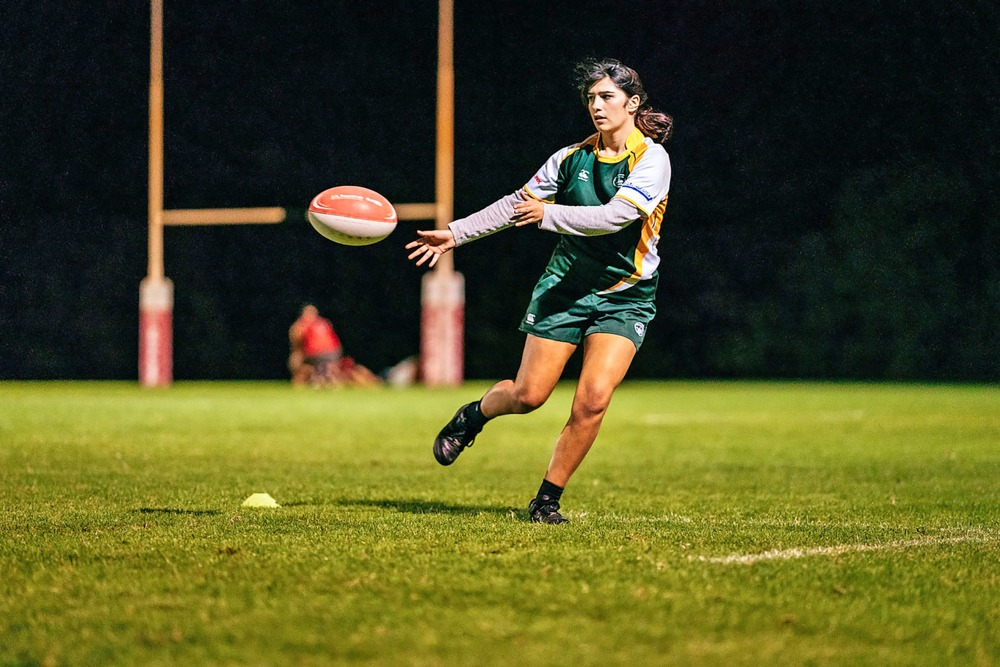 Waiheke women's rugby is about to begin. Pete Rees Photography