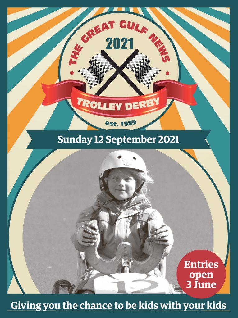 Trolley Derby 2021 Poster